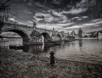 Мост Карла, Прага Стоковое фото RF