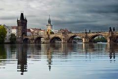 Мост Карла Стоковая Фотография RF