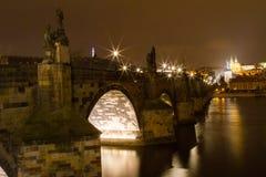 Мост Карла в Праге Стоковая Фотография