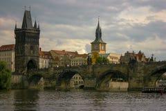 Мост Карла Прага стоковые изображения