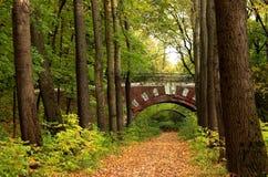 мост кирпича Стоковое Изображение