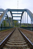 Мост конструкции Стоковые Фотографии RF