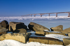 Мост конфедерации Стоковые Изображения RF