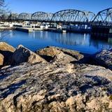 мост крадет Стоковые Фото