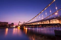мост крымский Стоковая Фотография