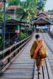 Мост культуры, МОСТ ПОНЕДЕЛЬНИКА стоковая фотография rf