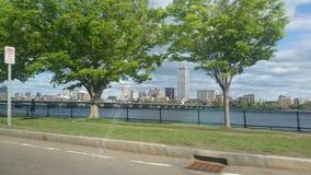 Мост к Бостону Стоковые Изображения