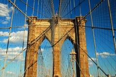 Мост к Бруклину стоковое изображение rf