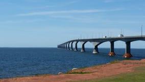 Мост к Острову Принца Эдуарда Стоковая Фотография