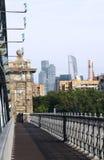 Мост к парку Gorky стоковые изображения rf