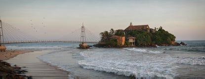 Мост к тропическому острову Стоковая Фотография RF
