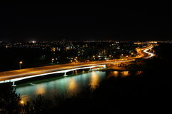 Мост к южному Perth стоковое фото rf