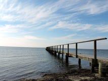 Мост к horizone Стоковые Изображения RF