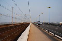 мост к venice Стоковое фото RF