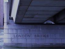 Мост Лондона - Лондон, Англия Великобритания стоковое фото