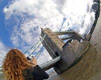 Мост Лондон - Англия башни Стоковые Фотографии RF