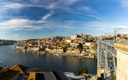 Мост Луис i, Порту Стоковое Фото