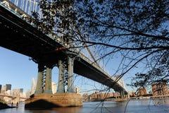 Мост Манхаттан в New York Стоковые Изображения RF