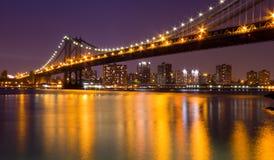 Мост Манхаттан Стоковые Изображения