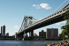 Мост Манхаттан Стоковое Изображение RF