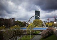 Мост Манчестер свода Стоковое фото RF