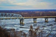 Мост Марка Твена Стоковая Фотография RF