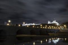 Мост Мадрида старый Стоковая Фотография RF