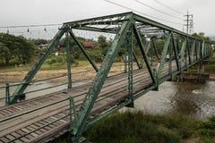 Мост мемориала Pai Второй Мировой Войны стоковая фотография rf