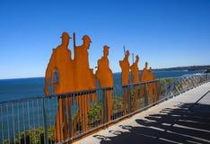 Мост мемориала ANZAC Стоковая Фотография