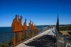 Мост мемориала ANZAC Стоковые Фото