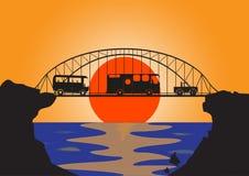 Мост металла кораблей праздника Стоковое Фото