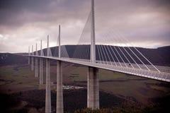 Мост Мийо, Франция Стоковые Фото