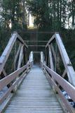 мост морозный Стоковые Фото
