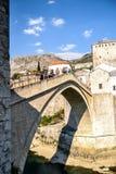 Мост Мостара Стоковые Изображения