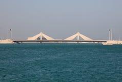 Мост мощёной дорожки в Бахрейне Стоковое Изображение RF