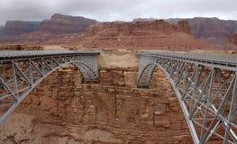 Мост Навайо, Coconino County, Аризона, США Стоковая Фотография RF