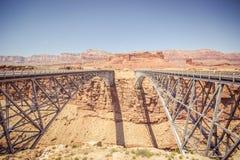 Мост Навахо стоковое изображение rf
