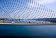 мост над морем Стоковая Фотография RF