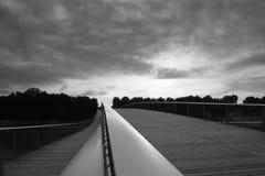 мост над переметом paris Стоковая Фотография RF
