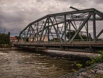 Мост над рекой Seneca стоковые изображения rf