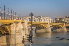 Мост над Donau в Будапеште, Венгрии стоковые фото