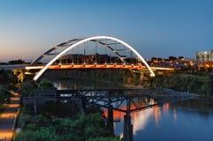 Мост Нашвилл Теннесси TN бульвара ворот Стоковое фото RF