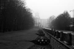 Мост на дворце Стоковые Изображения RF