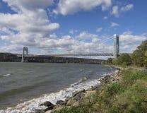 Мост над Гудзоном Стоковые Фотографии RF