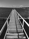 Мост над западным заливом Стоковое Изображение RF