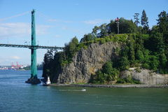 Мост над заливом Стоковое Изображение