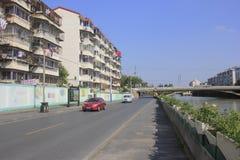 Мост на канале решетки Jiaxing Стоковое фото RF