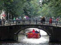 Мост над каналом Стоковые Изображения RF