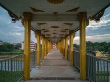 Мост на ноче Стоковая Фотография RF