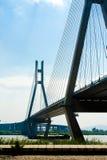 Мост над Рекой Янцзы Стоковое Фото